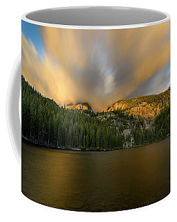Coffee Mug featuring the photograph 2 / 51  Bear Lake's Hallett Peak #2 by John Gilbert
