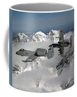 A-10 Thunderbolt IIs Fly Coffee Mug