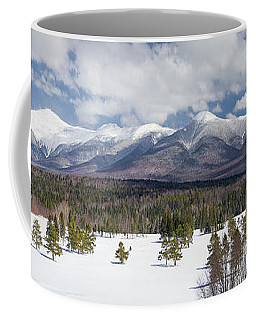 A Beautiful Panorama Of The Presidential Mountain Range In New H Coffee Mug