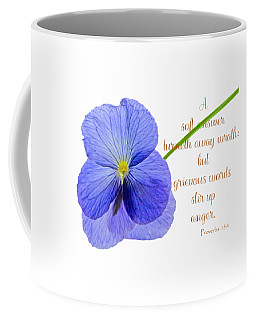 Coffee Mug featuring the photograph A Soft Answer by Larry Bishop