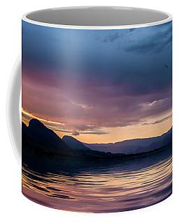 Across The Clouds I See My Shadow Fly Coffee Mug