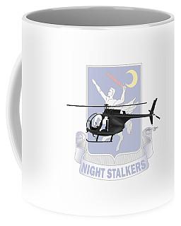 Coffee Mug featuring the digital art Ah-6j Little Bird Night Stalkers by Arthur Eggers