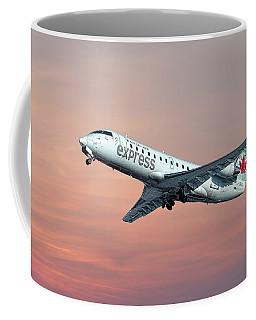 Air Canada Express Bombardier Crj-200 Coffee Mug
