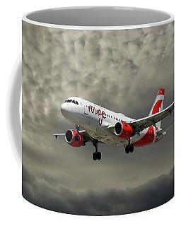 Air Canada Rouge Airbus A319 Coffee Mug