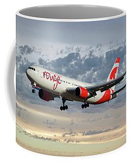Air Canada Rouge Boeing 767-333 114 Coffee Mug