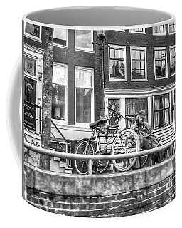 Amsterdam Street Coffee Mug by Yury Bashkin