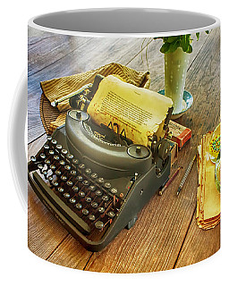 An Author's Tools Coffee Mug by Lynn Palmer