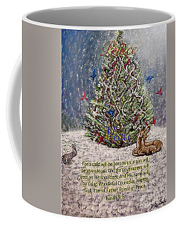 For Unto You A Prince Is Born Coffee Mug by Kimberlee Baxter