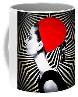 Celebraty Icona Audrey Hepburn Coffee Mug