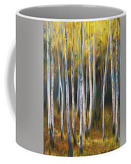 Coffee Mug featuring the photograph Autumn Trees by Vladimir Kholostykh