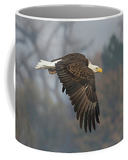 Bald Eagle On The Hunt Coffee Mug