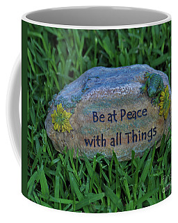 Coffee Mug featuring the photograph 2- Be At Peace by Joseph Keane