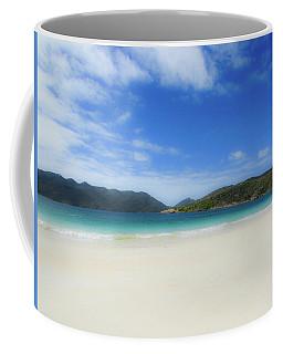 Beach Coffee Mug by Cesar Vieira