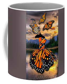 Coffee Mug featuring the mixed media Believe by Marvin Blaine
