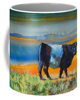 Belted Galloway Cow Coffee Mug