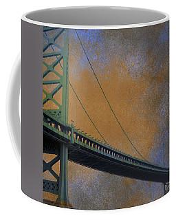 Ben Franklin Bridge Philadelphia Pa Coffee Mug