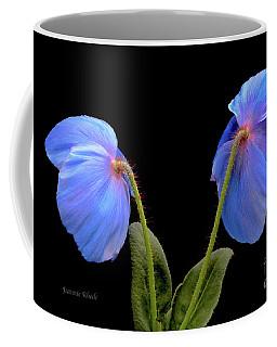 Blue Poppies Coffee Mug by Jeannie Rhode