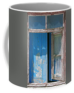 Blue Window Coffee Mug