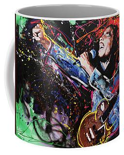 Bob Marley Coffee Mug by Richard Day