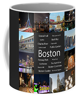 Boston Ma Collage Coffee Mug
