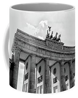 Brandenburg Gate - Berlin Coffee Mug by Juergen Weiss