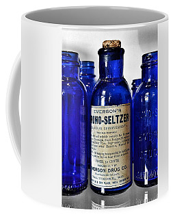 Bromo Seltzer Vintage Glass Bottles Collection Coffee Mug