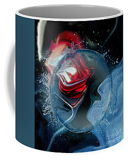 Coffee Mug featuring the photograph Upheaval by Kathie Chicoine