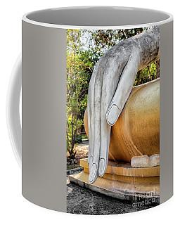 Coffee Mug featuring the photograph Buddha Hand by Adrian Evans