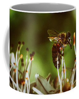 Coffee Mug featuring the photograph Bzzz by Michael Siebert
