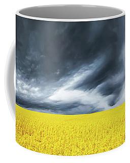Canola Field Coffee Mug by Bess Hamiti