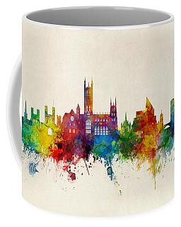 Canterbury England Skyline Coffee Mug