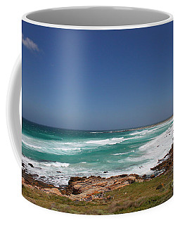 Capetown Peninsula Beach  Coffee Mug by Bev Conover
