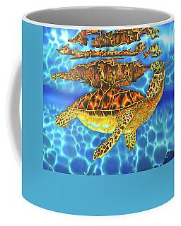 Caribbean Sea Turtle Coffee Mug