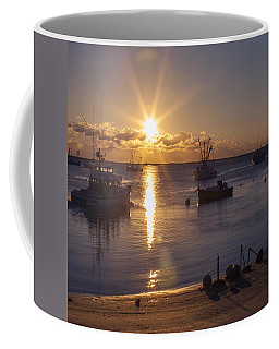 Coffee Mug featuring the photograph Chatham Sunrise by Charles Harden