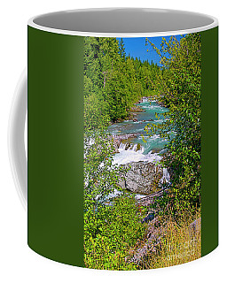 Coffee Mug featuring the photograph Cheakamus River by Sharon Talson