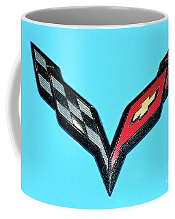 Chevy Emblem Coffee Mug by Pamela Walrath