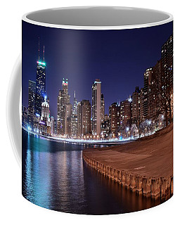Chicago From The North Coffee Mug by Frozen in Time Fine Art Photography