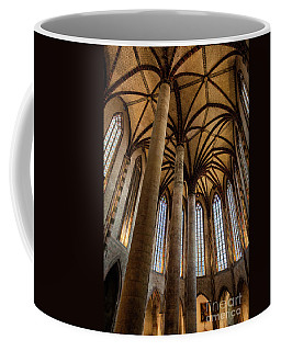 Coffee Mug featuring the photograph Church Of The Jacobins Interior by Elena Elisseeva