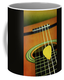 Coffee Mug featuring the photograph Classic Guitar  by Carlos Caetano