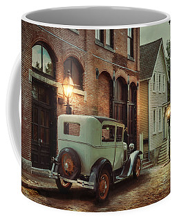 Coffee Mug featuring the photograph Cobblestone Streets by Robin-Lee Vieira