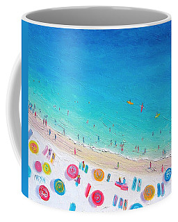 Colors Of The Beach Coffee Mug by Jan Matson