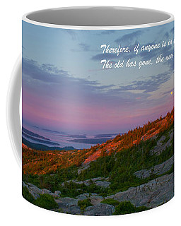 2 Corinthians 5-17 Coffee Mug