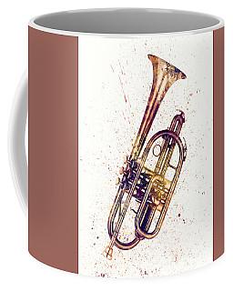 Cornet Abstract Watercolor Coffee Mug