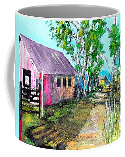 Country Lane Coffee Mug by Jim Phillips