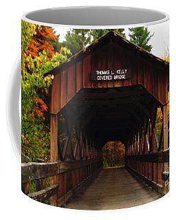 Covered Bridge At Allegany State Park Coffee Mug