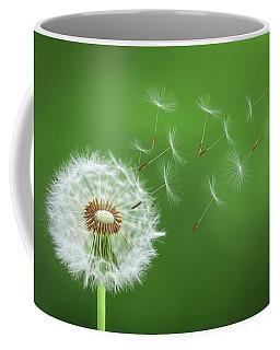 Dandelion Blowing Coffee Mug