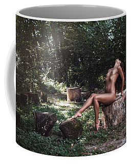 Coffee Mug featuring the photograph Dany by Traven Milovich