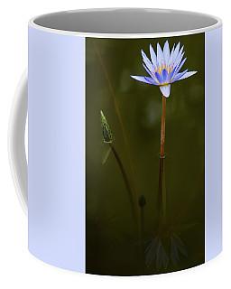 Deep Lily Reflection Coffee Mug