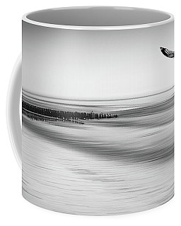 Coffee Mug featuring the photograph Desire Light Bw by Hannes Cmarits