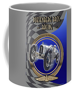 Duesenberg Bros. Racing Coffee Mug